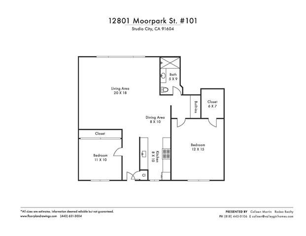 12801 Moorpark Street #101, Studio City, CA 91604 (#SR20127033) :: The Parsons Team