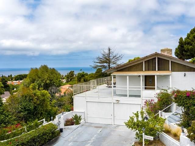 1064 Via Ventana, Palos Verdes Estates, CA 90274 (#SB20126218) :: Allison James Estates and Homes