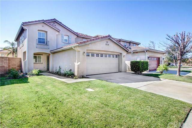 16209 Los Coyotes Street, Fontana, CA 92336 (#CV20129098) :: The Miller Group