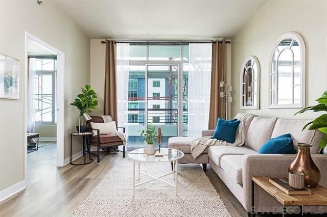 425 W Beech Street #1607, San Diego, CA 92101 (#200030662) :: Powerhouse Real Estate