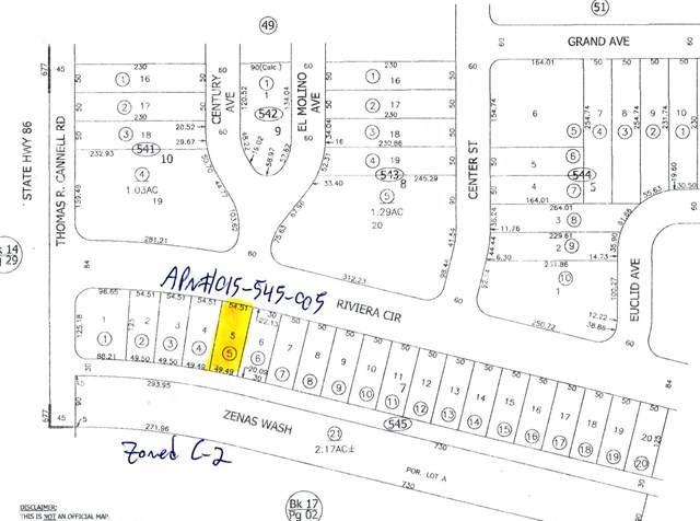 1175 Rivera Circle, Salton City, CA 92275 (#219045426DA) :: The Costantino Group | Cal American Homes and Realty