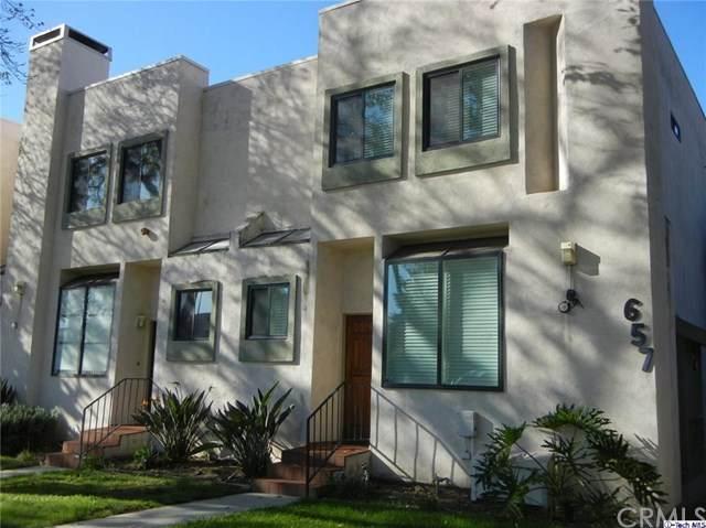 657 S Marengo Avenue #8, Pasadena, CA 91106 (#320002220) :: The Brad Korb Real Estate Group