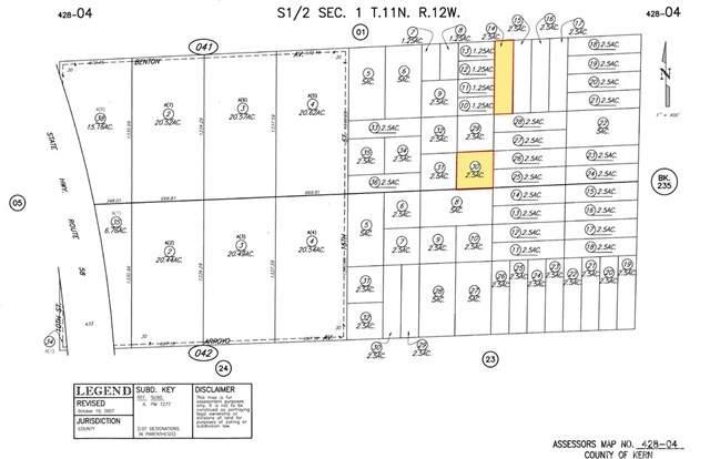 15 Street & Arroy Avenue, Mojave, CA 93501 (#SR20130208) :: Better Living SoCal