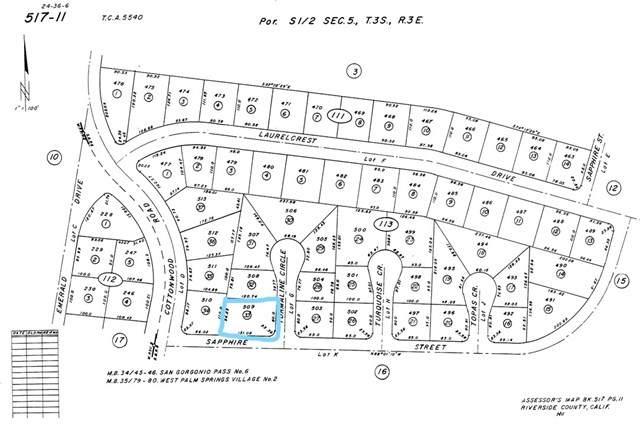 0 Tourmaline, Cabazon, CA 92282 (#SW20131782) :: Allison James Estates and Homes