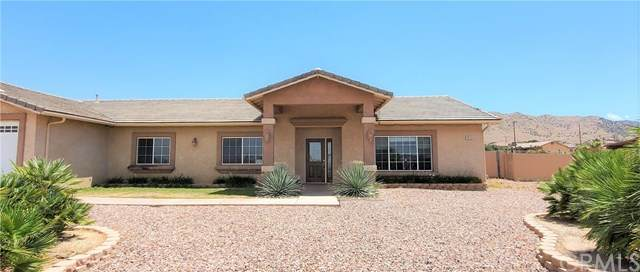 58159 Lisbon Drive, Yucca Valley, CA 92284 (#SW20132716) :: The Laffins Real Estate Team