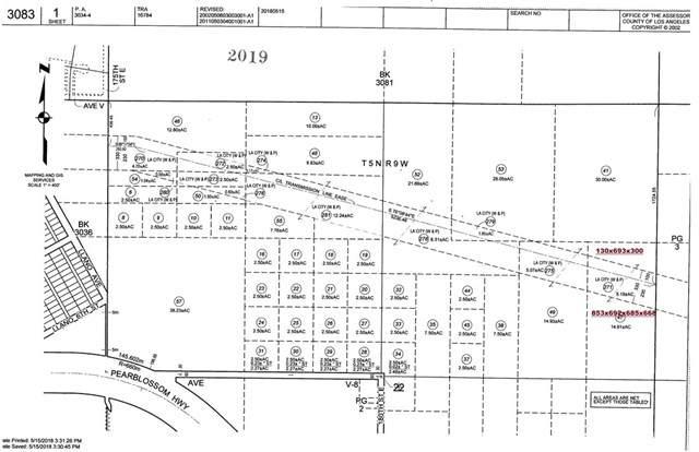 0 Vac/Ave V8/Vic 185 Ste  Black Butte, Llano, CA 93591 (#CV20132751) :: The Parsons Team