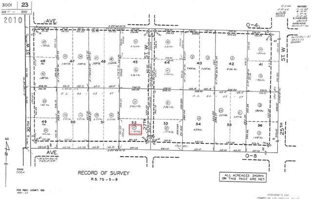 0 Vac Cor Avenue 08 27 Stw, Palmdale, CA 93551 (#PV20133934) :: Zember Realty Group