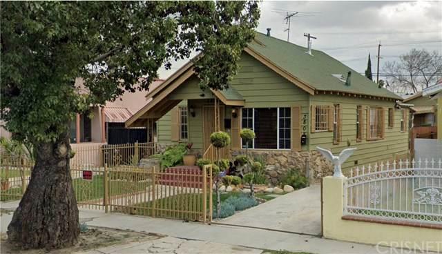3806 S Van Ness Avenue, Los Angeles (City), CA 90062 (#SR20134376) :: Bob Kelly Team