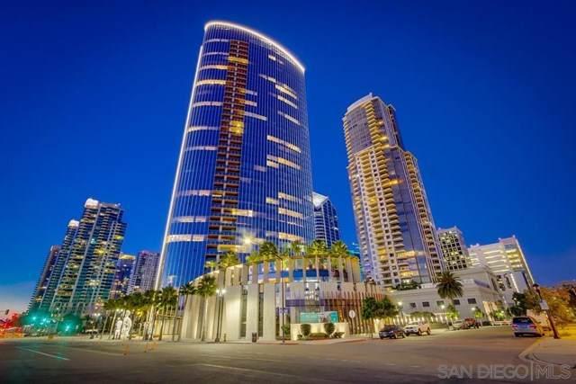 888 W West E Street #1401, San Diego, CA 92101 (#200032489) :: Mainstreet Realtors®