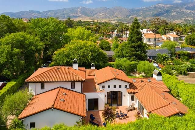4357 Cuna Drive, Santa Barbara, CA 93110 (#220007354) :: Crudo & Associates