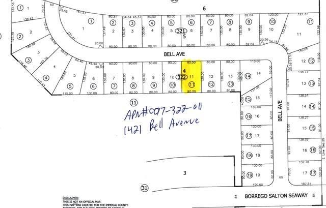 1421 Bell Avenue, Salton City, CA 92275 (#219046060DA) :: Sperry Residential Group