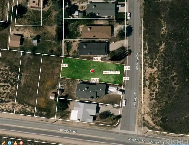 0 Vac/Limeridge Dr/Vic Johnson Road, Lake Elizabeth, CA 93532 (#SR20139646) :: Realty ONE Group Empire