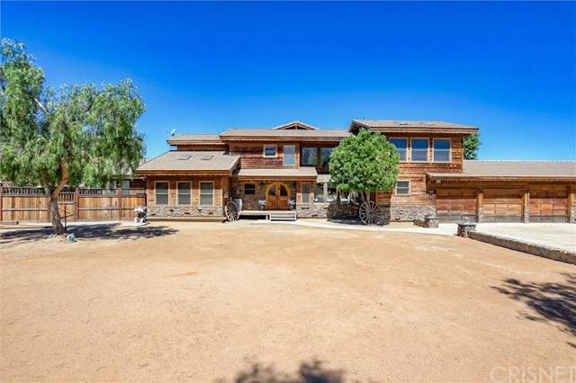 7720 Lupine Road, Agua Dulce, CA 91390 (#SR20147332) :: Sperry Residential Group