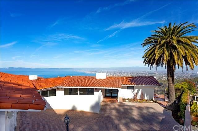 880 Via Del Monte, Palos Verdes Estates, CA 90274 (#PV20149256) :: Millman Team
