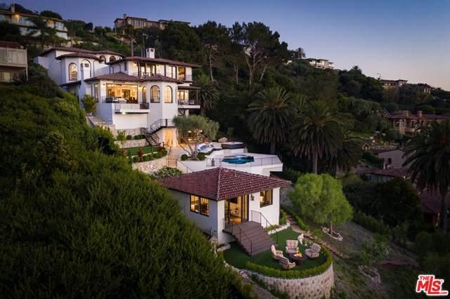 824 Via Del Monte, Palos Verdes Estates, CA 90274 (#20608832) :: Millman Team