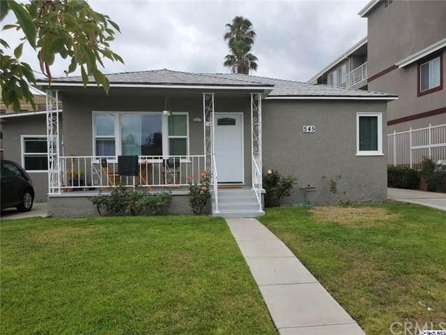 545 E Palmer Avenue, Glendale, CA 91205 (#320002108) :: Allison James Estates and Homes