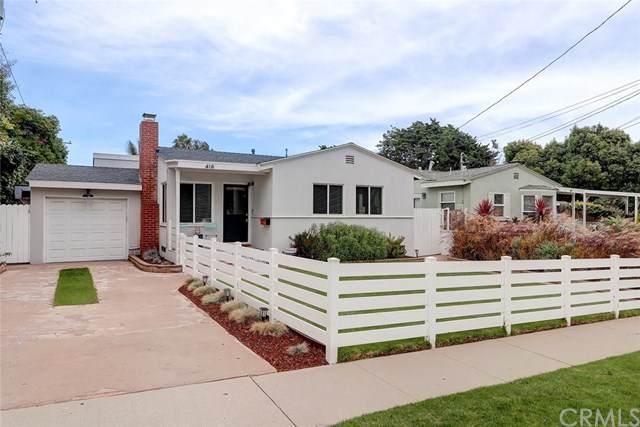 418 S Meadows Avenue, Manhattan Beach, CA 90266 (#SB20150210) :: Bathurst Coastal Properties