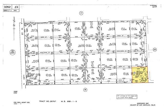 105-St W Avenue B-8, Antelope Acres, CA 93536 (#SR20151443) :: Allison James Estates and Homes