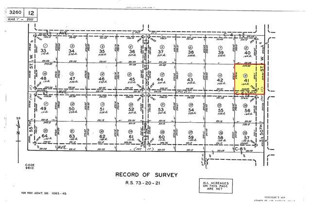 50-St W Avenue C-6 (Corner), Antelope Acres, CA 93536 (#SR20151230) :: Allison James Estates and Homes