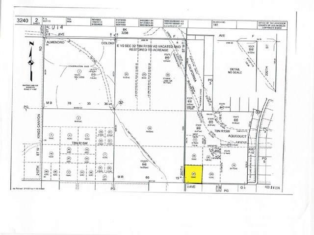 200-St W Avenue G (Corner), Del Sur, CA 93536 (#SR20150998) :: Allison James Estates and Homes