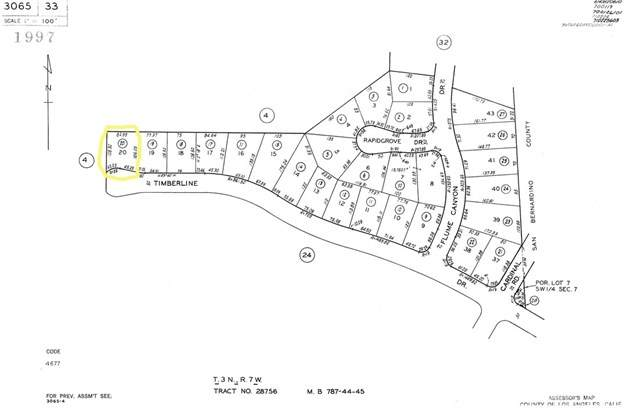 0 Timberline Drive, Wrightwood, CA 93544 (#SR20154499) :: Compass
