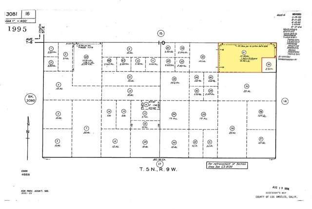 185-St E Avenue T-8, Llano, CA 93544 (#SR20156344) :: Team Tami