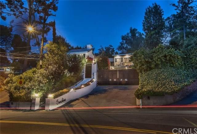 7475 Mulholland Drive, Los Angeles (City), CA 90046 (#BB20159287) :: The Najar Group