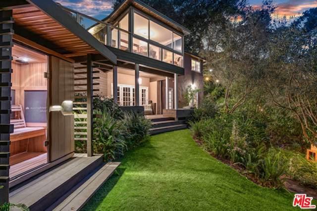 19728 Sunset Trail, Topanga, CA 90290 (#20615378) :: Allison James Estates and Homes