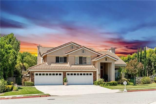 11957 Wood Ranch Road, Granada Hills, CA 91344 (#SR20159588) :: Compass