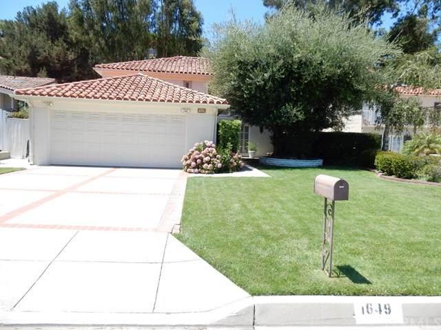 1649 Cataluna Place, Palos Verdes Estates, CA 90274 (#SB20160072) :: Crudo & Associates