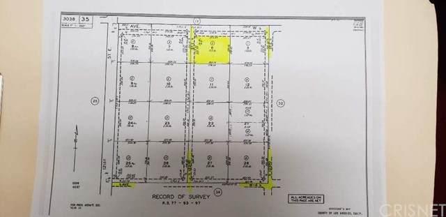 0 Vac/Cor Avenue W Drt /122, Pearblossom, CA 93553 (#SR20160348) :: RE/MAX Empire Properties