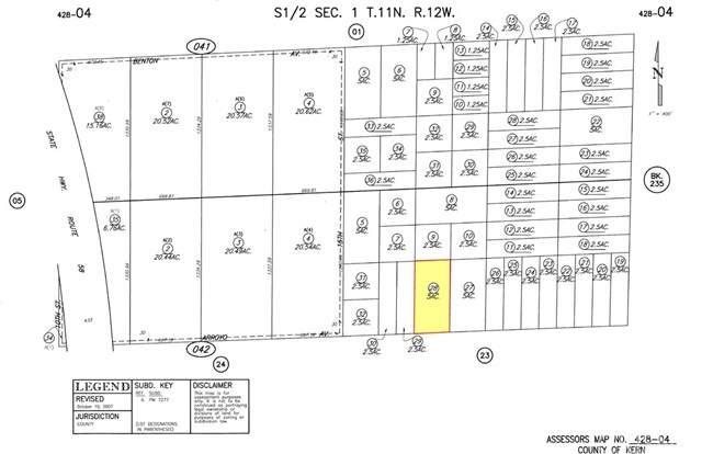 16-Street E Arroy Avenue, Mojave, CA 93501 (#SR20158255) :: Z Team OC Real Estate