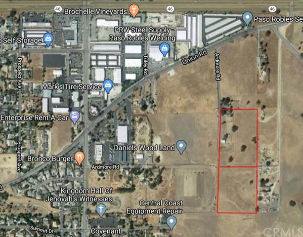 2930 Union Lot #6 & #13 Road, Paso Robles, CA 93446 (#NS20165634) :: The Najar Group