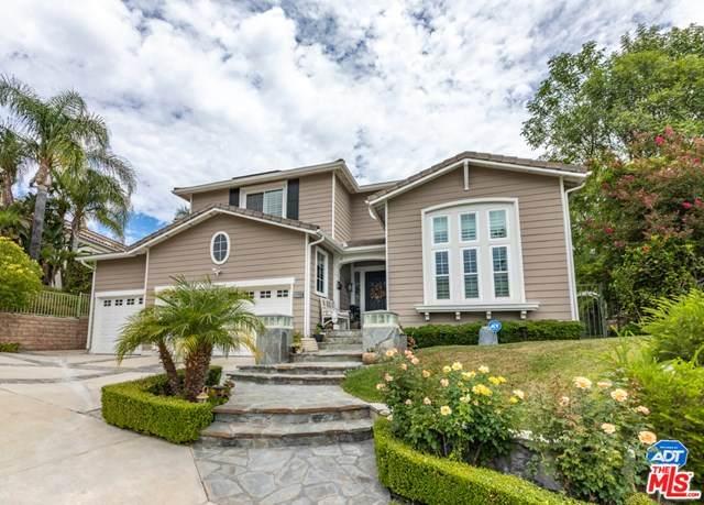 7248 Rockridge Terrace, West Hills, CA 91307 (#20618844) :: Sperry Residential Group