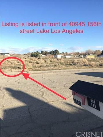 0 Vac/156Th E/Vic Valeport Avenue, Lake Los Angeles, CA 93535 (#SR20172644) :: The Najar Group