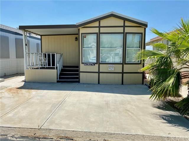 74711 Dillon Road #963, Desert Hot Springs, CA 92241 (MLS #SW20178705) :: Desert Area Homes For Sale
