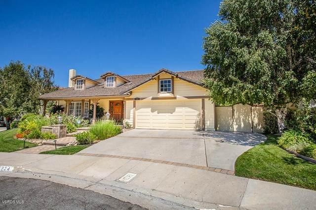 234 Fox Ridge Drive, Thousand Oaks, CA 91361 (#220009442) :: Hart Coastal Group