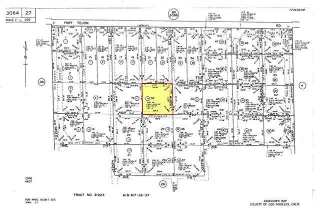 226 Vac/Cor Fort Tejon Drt /226 St, Llano, CA 93544 (#PW20186007) :: eXp Realty of California Inc.