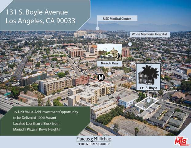 131 S Boyle Avenue, Los Angeles (City), CA 90033 (#20629502) :: Team Tami