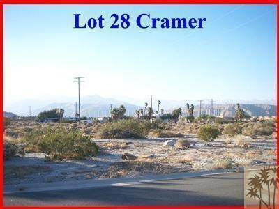 Lot 28 Cramer Street, Palm Springs, CA 92262 (#219049285DA) :: The Costantino Group | Cal American Homes and Realty