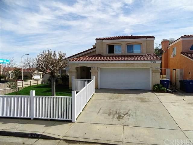 37658 19th Street E, Palmdale, CA 93550 (#SR20187486) :: Team Tami