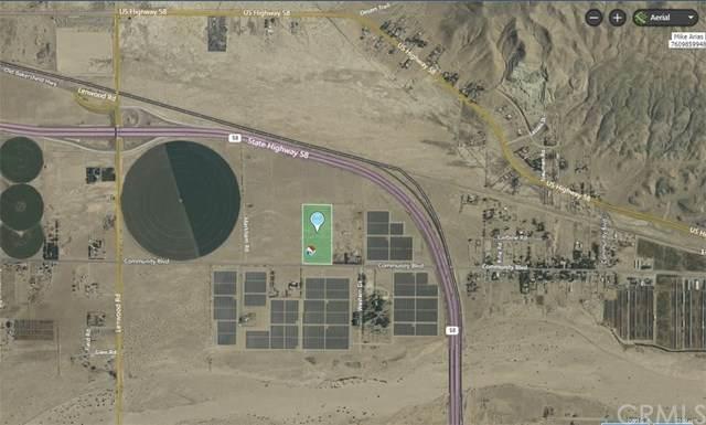 0 Community Boulevard, Barstow, CA 92311 (MLS #CV20186659) :: Desert Area Homes For Sale