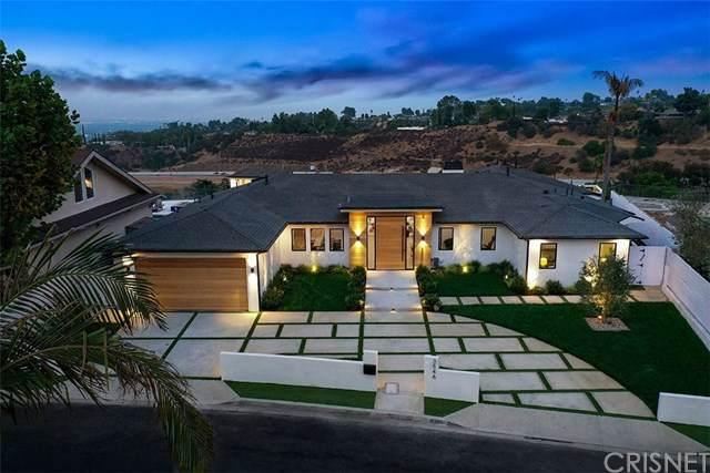 3546 Crownridge Drive, Sherman Oaks, CA 91403 (#SR20194430) :: Team Tami
