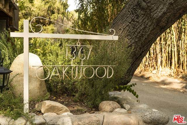 1367 Oakwood Drive, Topanga, CA 90290 (#20634312) :: The Laffins Real Estate Team