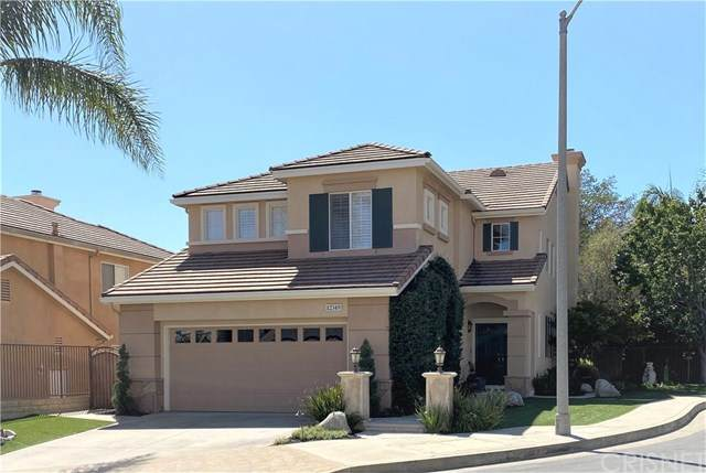 12349 Yew Court, Porter Ranch, CA 91326 (#SR20192529) :: The Najar Group