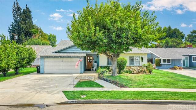 10410 Ruffner Avenue, Granada Hills, CA 91344 (#SR20197555) :: The Laffins Real Estate Team