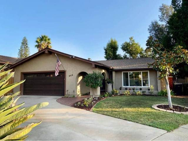 869 Montview Drive, Escondido, CA 92025 (#NDP2000032) :: Wendy Rich-Soto and Associates