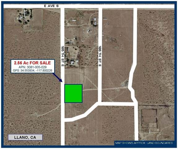 0 185th Street, Llano, CA 93544 (#528488) :: Steele Canyon Realty