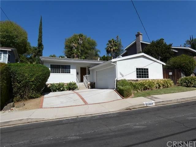 21865 Ybarra Road, Woodland Hills, CA 91364 (#SR20198081) :: Go Gabby