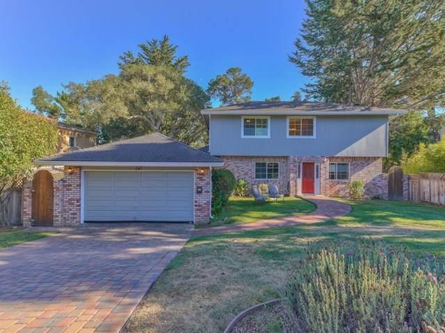 541 Dry Creek Road, Monterey, CA 93940 (#ML81812599) :: The Najar Group